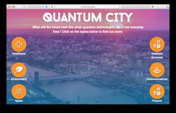 Quantum City Homepage image